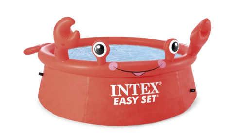 Nadzemní bazén INTEX ve tvaru kraba