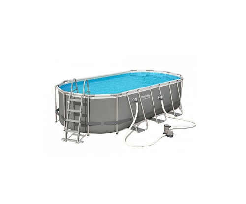 Oválný nadzemní bazén BESTWAY