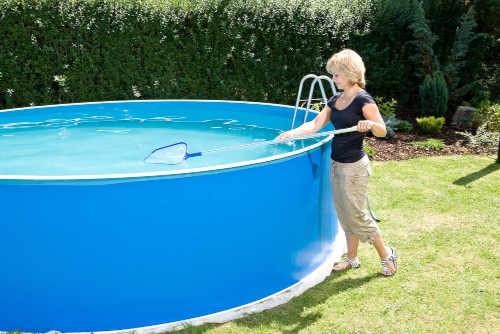 kruhový bazén Orlando s pískovou filtrací