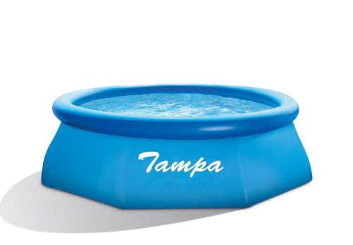 kruhový nadzemní bazén Tampa