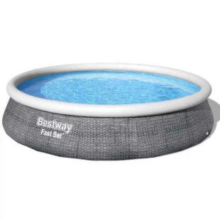 Bazén Bestway v ratanovém vzhledu
