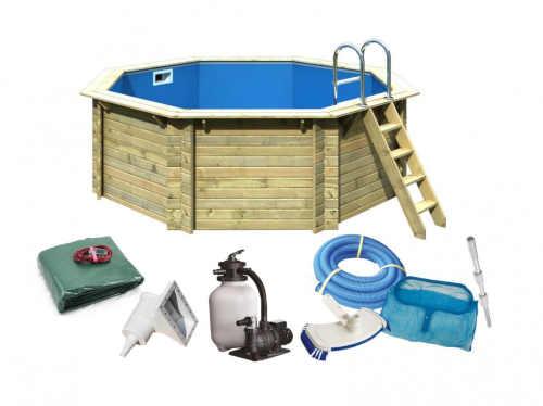 Luxusní bazén včetně příslušenstvím