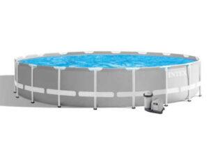 Velký kruhový bazén včetně příslušenství
