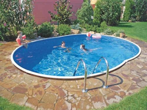 nadzemní oválný bazén Orlando