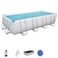 Bazén Power Steel™ obdélníkového tvaru včetně příslušenství