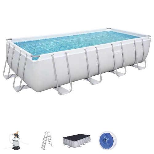 Bazén obdélníkového tvaru včetně příslušenství