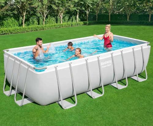 kvalitní nadzemní obdélníkový bazén